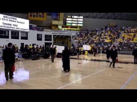 Kendo 2015 Women's Dan Nikkei Games. 1st match