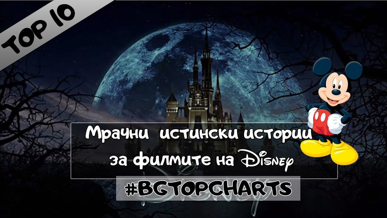 10 мрачни истински истории за любимите ни филми на Disney