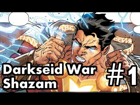 Justice League Darkseid War Shazam #1 Review/Recap. The God Of Gods!