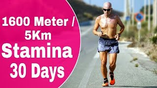 1600 meter running tips in hindi