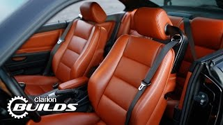 Clarion Builds 90's BMW 8 Series Restomod Gets Interior Upgrade