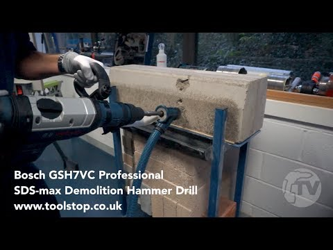 Видео обзор: Отбойный молоток BOSCH GSH 7 VC