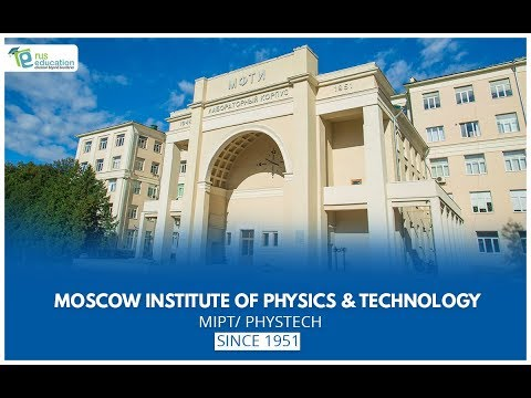 MOSCOW INSTITUTE OF PHYSICS AND TECHNOLOGY   Rus Education