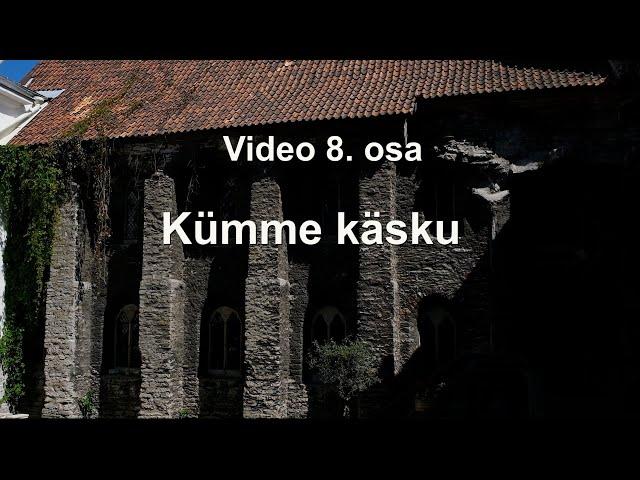 KATOLIKU KIRIKU KATEKISMUSE kompendium, 8. osa.