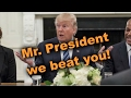 Mr President We Beat You | US court refuses Trump's Muslim ban