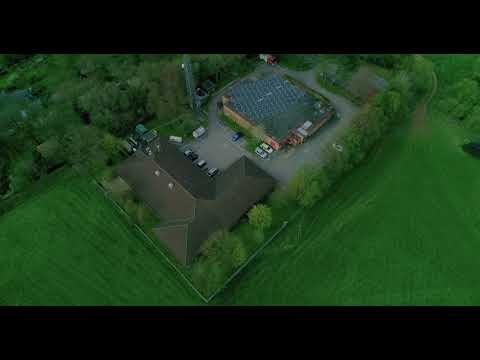 Avon and and Somerset Fire Service Bunker DRONE Lansdown 4K
