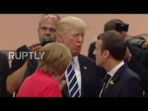 Germany: World leaders get friendly as G20 Summit kicks off