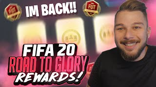 ΔΥΝΑΤΗ ΕΠΙΣΤΡΟΦΉ!!! 🔙 | WL REWARDS | #FIFA20 GREEK ULTIMATE TEAM ROAD TO GLORY #10