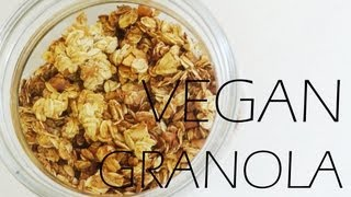 "My ""healthy"" Vegan Granola"