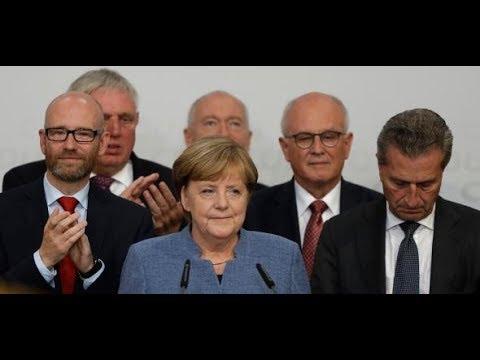 """Wahlergebnis: Angela Merkel - """"Große Aufgabe liegt vor uns - der Einzug der AfD"""""""