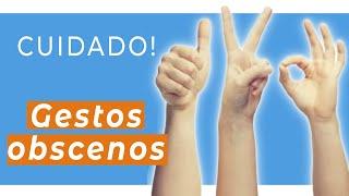 ATENÇÃO: Não faça esses gestos nos outros países!! | Rachel Travel Tips