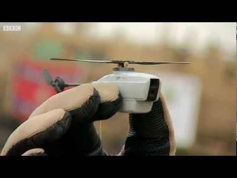 British Army's Black Hornet Nano UAV - BBC News