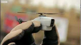 British Army's Black Hornet Nano UAV - BBC News