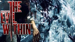 WATER MONSTERS! - The Evil Within Chapter 11 Gameplay Walkthrough