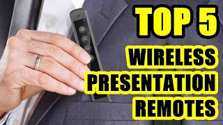 TOP 5 ❌ Best Wireless Presente…