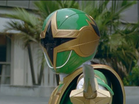 "Green Samurai Ranger's First Morph and Battle | Power Rangers Ninja Storm ""The Samurai's Journey"""