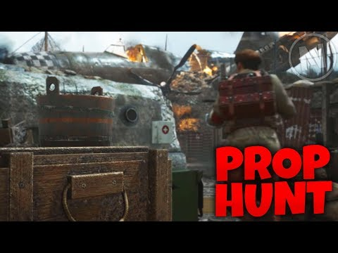 Prop Hunt In WWII! (Call of Duty WWII Multiplayer)