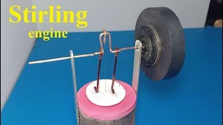 How to make Stirling engine
