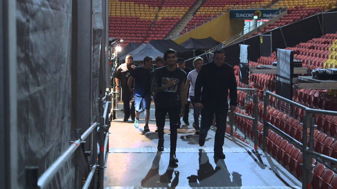 One Direction 'On The Road Again' In Brisbane
