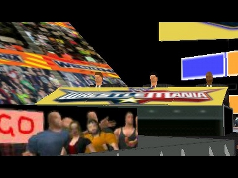 WWE 2K17 Real Mod of WR3D (Commentry Added)