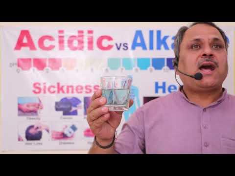 Alkaline antioxidant water sgnr