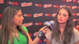 Willa Holland New York Comic Con Interview