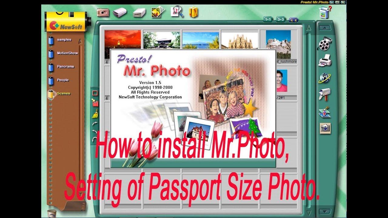 Download presto! Mr. Photo free.