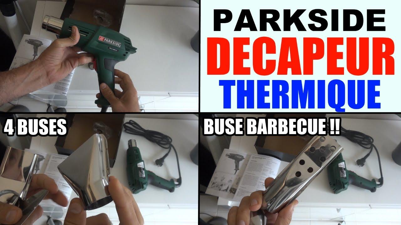 Decapeur thermique parkside lidl phlg 2000 c2 b1 pr sentation heat gun youtube - Decapeur thermique lidl ...