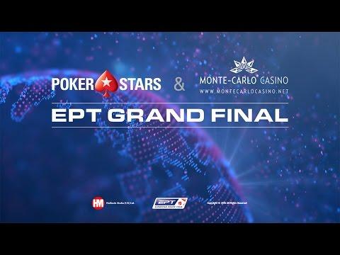 Большой Финал EPT - Главное Событие живого покера - День 4 (с показом закрытых карт)