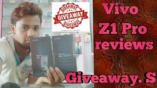 Vivo Z1 pro mobile Giveaway and Full Reviews (2019)