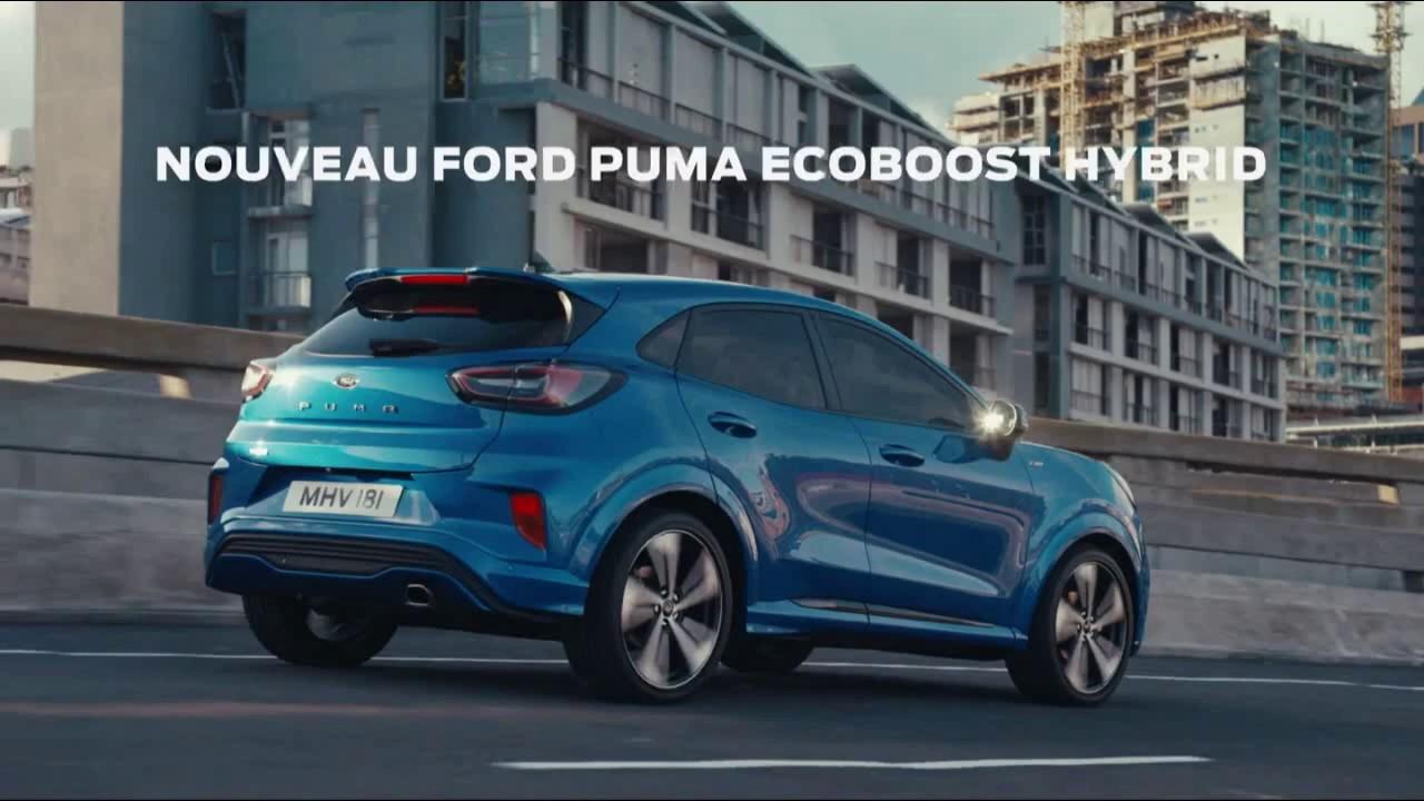 """Musique de la pub Ford Puma EcoBoost Hybrid (megabox) """"changez votre vision de l'espace""""  2021"""
