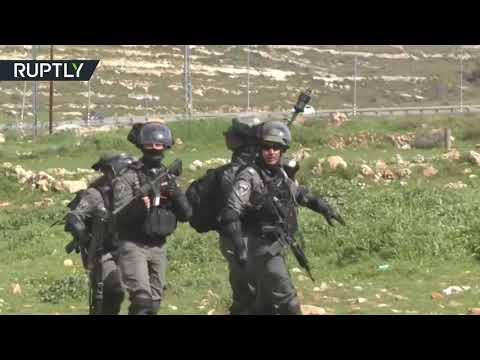 Several Palestinians injured as IDF use live ammo at protest