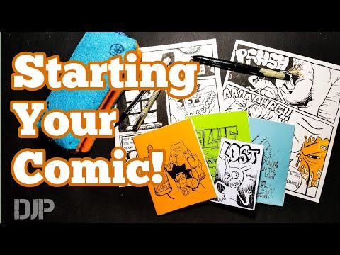 How to Make Your First Comic Book (An Easy Way to Start)