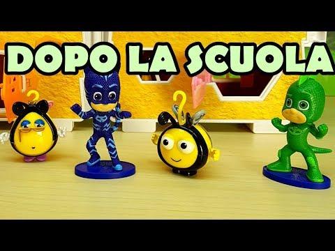I SUPER PIGIAMINI PJ MASKS E BUZZ BEE DOPO LA SCUOLA - La casa delle api , nuovo gioco per bambini