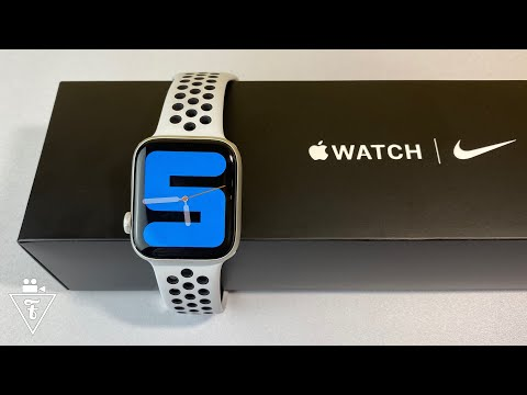 Купил Apple Watch 5 Nike