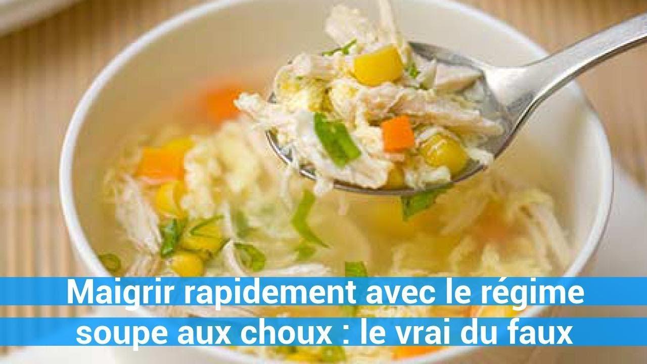 Maigrir rapidement avec le régime soupe aux choux : le