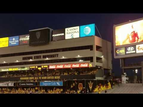 Arizona State Sun Devil Football Entrance 2016