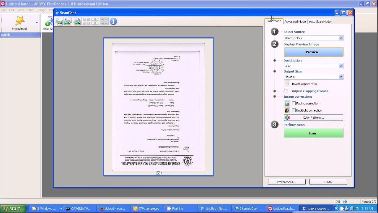 Cara Scan 2 Dokumen Jadi 1 File - Dokumen Pilihan