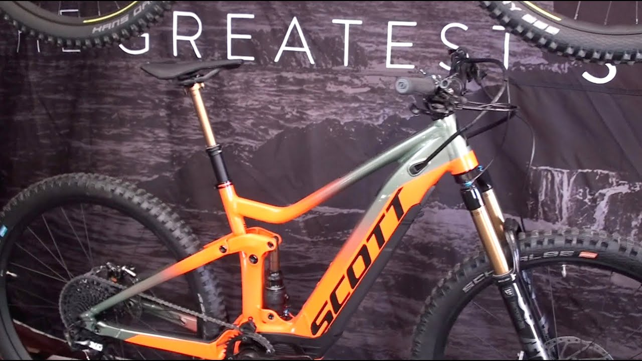 Populära 2019 Scott Spark, Strike, & Genius eRide Electric Mountain Bikes JL-03