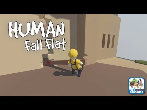 Human Fall Flat - I have the Biggest Key in the World (Xbox One Gameplay)