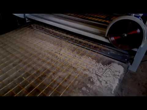 Линия по производству композитной сетки шириной 1м КСП-1000  производства ООО Арпластик