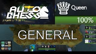 DOTA AUTO CHESS - QUEEN #456 GAMEPLAY / GOT A SUPER COMBO OF TROLLS WARLOCKS AND KNIGHTS