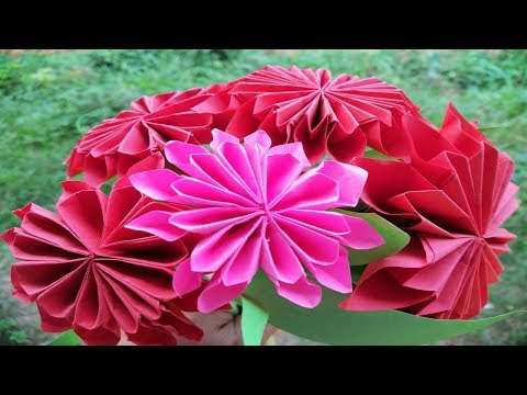 How to Make Beautiful Flower with Paper DIY - Paper Flowers