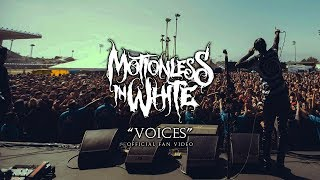 "Motionless In White - ""Voices"" (Official Fan Video - Vertical)"