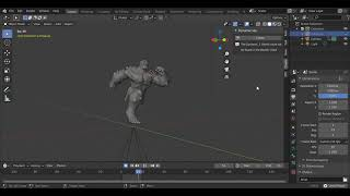 Blender Run Cycle