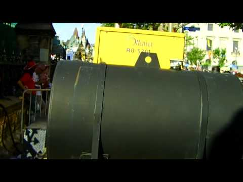 Diesel Generator with Fuel Cell at Canada Day in Ottawa Ontario Canada