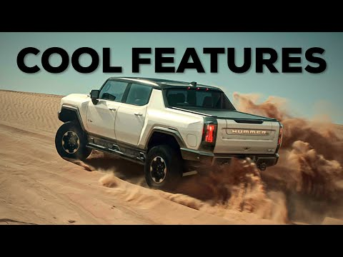 Top 12 COOL FEATURES about the HUMMER EV!