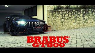 Brabus GT800 insane Josefin Garage sound !!!