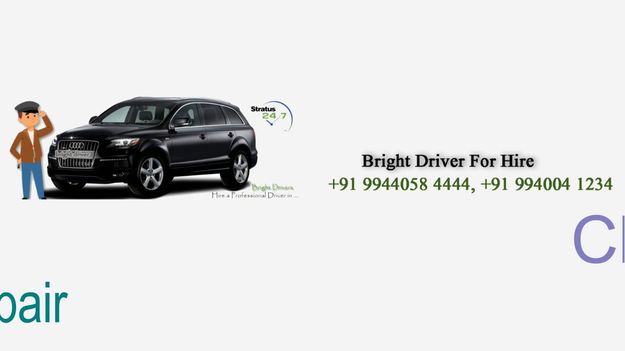 Call Drivers in Chennai   Hire Driver for Outstation Chennai