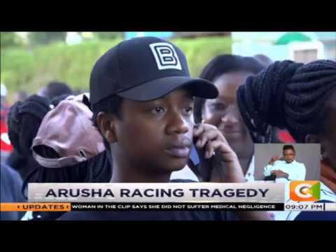 Bodies of Kenyans killed in Tanzania car racing crash flown to Nairobi